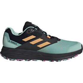 adidas TERREX Speed Flow Trail Running Shoes Men, acid mint/hazy orange/screaming pink